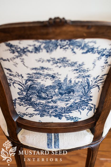 French chair makeover - Miss Mustard Seed
