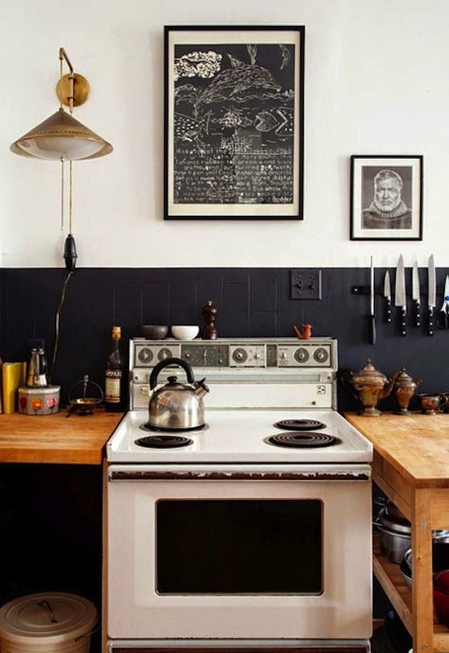 La Maison Boheme: Black & White | Two-Tone Wall
