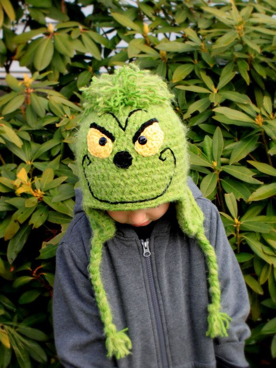 Crochet Grinch hat  Kristin Godwin .. guess what Jackson is  getting!!!   !!!  0077f36c74b