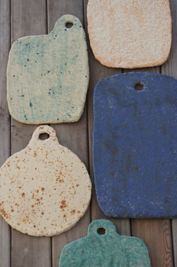 Cheese Board-Stoneware Plate-Rustic Serving by Vsocks on Etsy