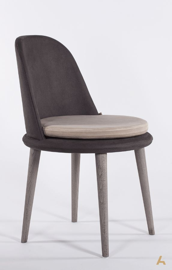 Atia Chair, Oak | Centrum Collection. Designed by George Bosnas for Anesis.