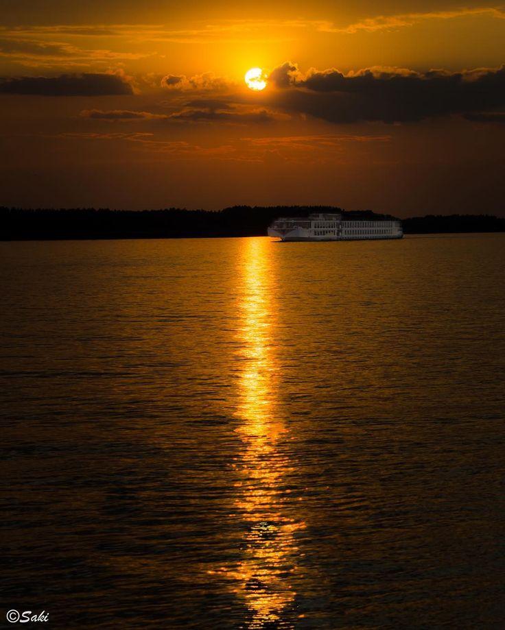 Sunset at river Danube #jsakalos #targetdone