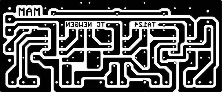 PCB Design Tone Control NE5532