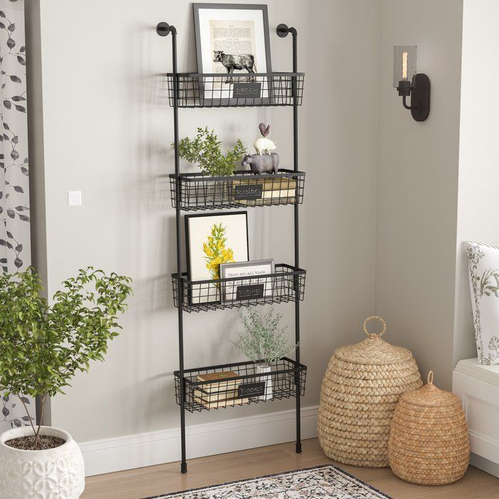 Oronoco Wall Organizer With Wall Baskets Baskets On Wall Wall Organization Wall Basket Storage