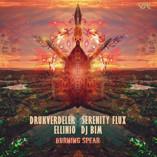 Burning Spear is a collaboration between 4 artists from 4 different European countries: Drukverdeler (Netherlands) - DJ Bim (Germany) - Serenity Flux (France) and Ellinio (Greece), for sure they form