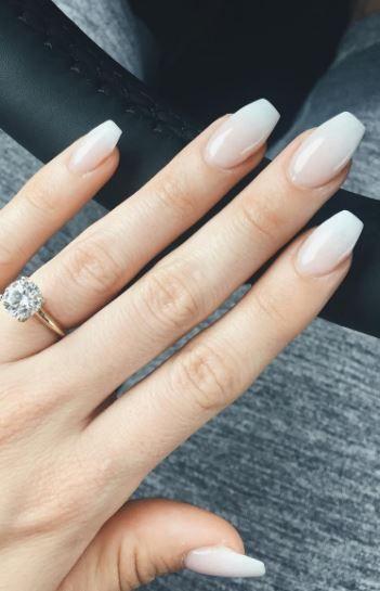 17 schöne Hochzeit Nail Designs #Hochzeit #Hochzeitsnagel #Weißnagel #Nägel #Nagelkunst