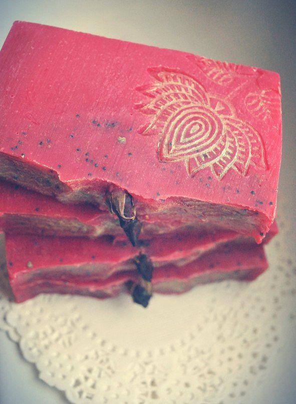 Venetian Rose Soap Soap hand-made