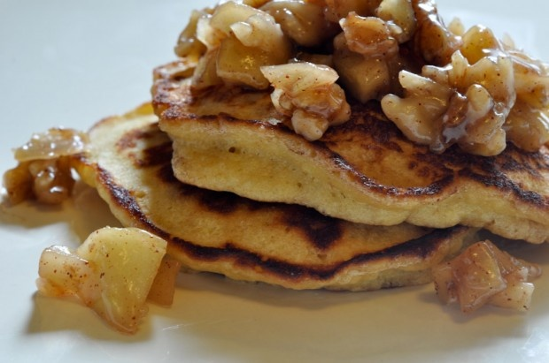 Caramel, Pancakes and Apples on Pinterest