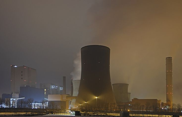 Nuclear Reactors, Nuclear Power Plant, Cooling Tower