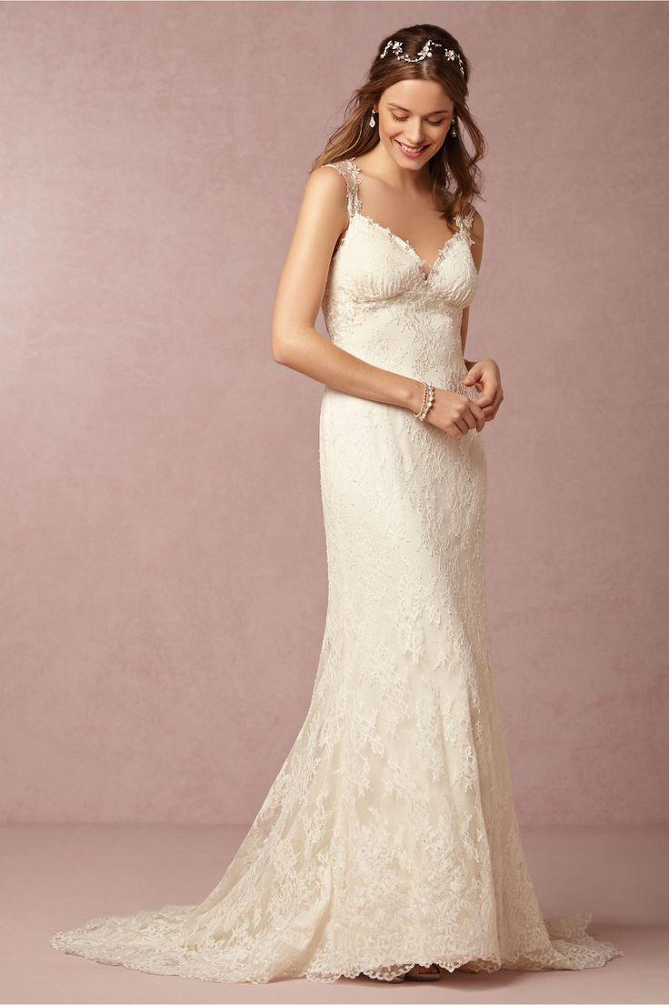 Elegant Click to Buy uc uc Spring Lace Wedding Dresses Plus Size Sweep Train ue ue