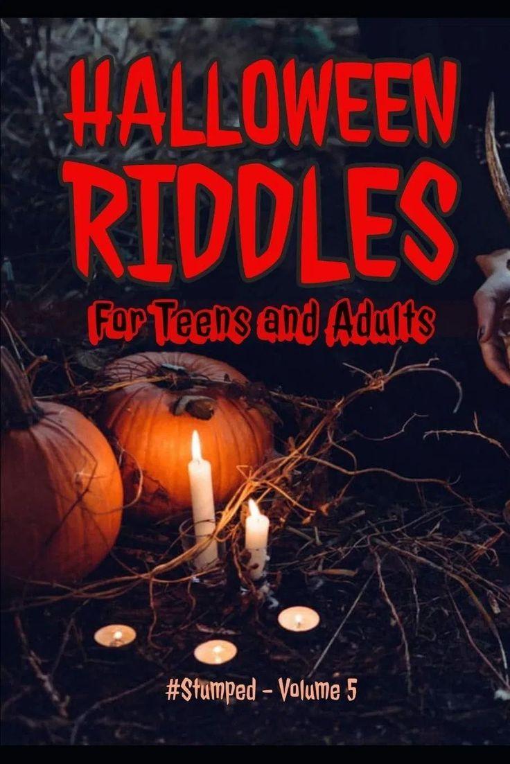 Halloween Riddle Book 80 Original Fun Riddles in 2020