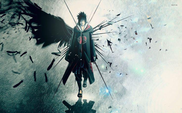Anime Naruto  Sasuke Uchiha Wallpaper