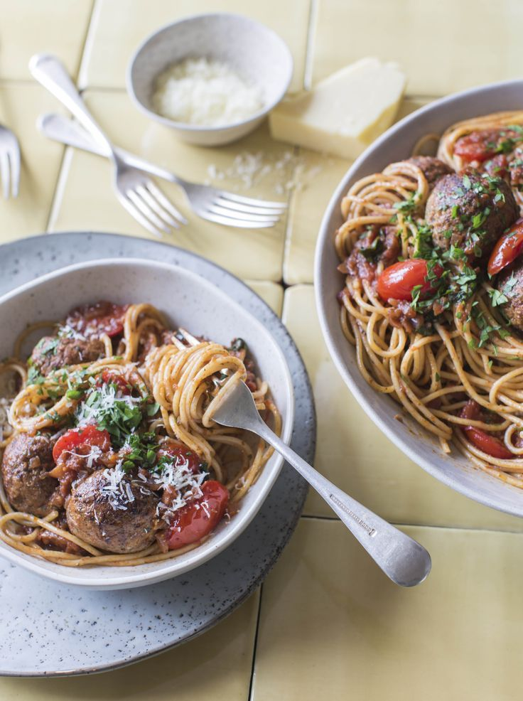 The best spaghetti and meatballs