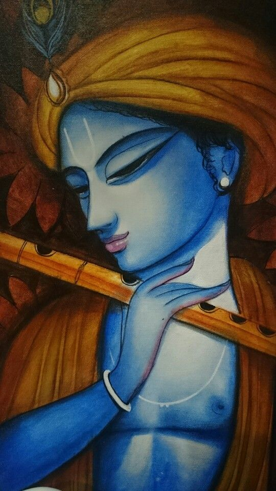 Krishna painting More
