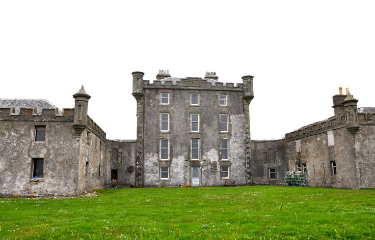 Breacachadh New Castle. It has been slightly updated but will never be restored to it's former glory - shame!