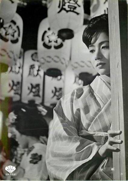 enzantengyou: p7919岩下志麻『古都 (1963』美品 Via Yellowmenace.tumblr