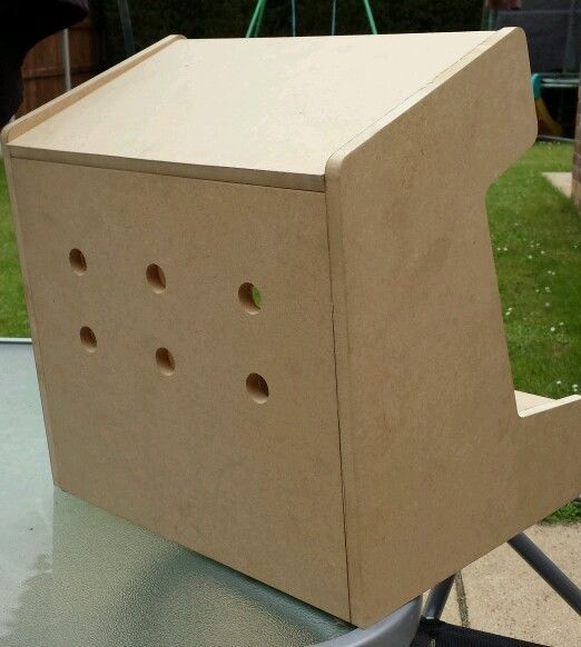 Miniatura Mini reproductor de máquina Arcade Bartop 1 kit para armar uno mismo paquete plano