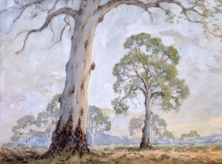 http://www.llcross.com/  --------      Mixed Media - Painting by Leslie Cross - Australian Artist. Landscape