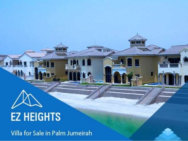 villa for sale in palm jumeirah  The palm Jumeirah is an artificial archipelago in UAE. It is located on the Jumeirah coastal area of the emirate of Dubai, in the UAE.   For more information please visit the link mention below:- http://www.slideshare.net/ezayedrealestate/villa-for-sale-in-palm-jumeirah-dream-big-live-big