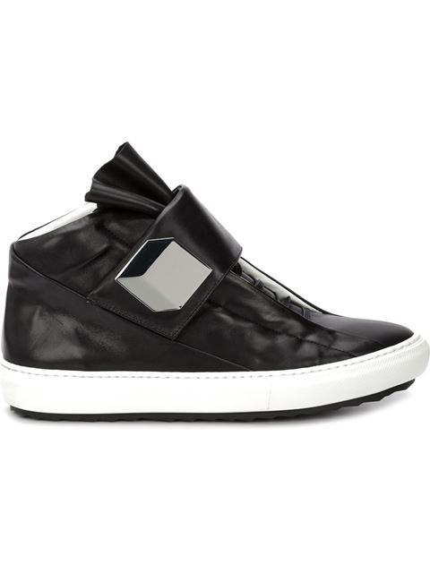 Shop Pierre Hardy 'Magic' hi-top sneakers in Pierre Hardy