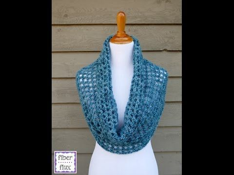 How To Crochet The Platinum Cowl, Episode 217 - YouTube