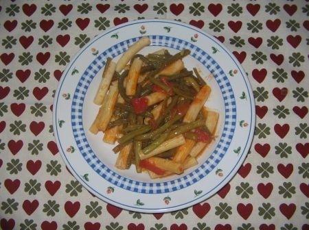 Fotoricetta: pasta con fagiolini e pomodori | Ricette di ButtaLaPasta