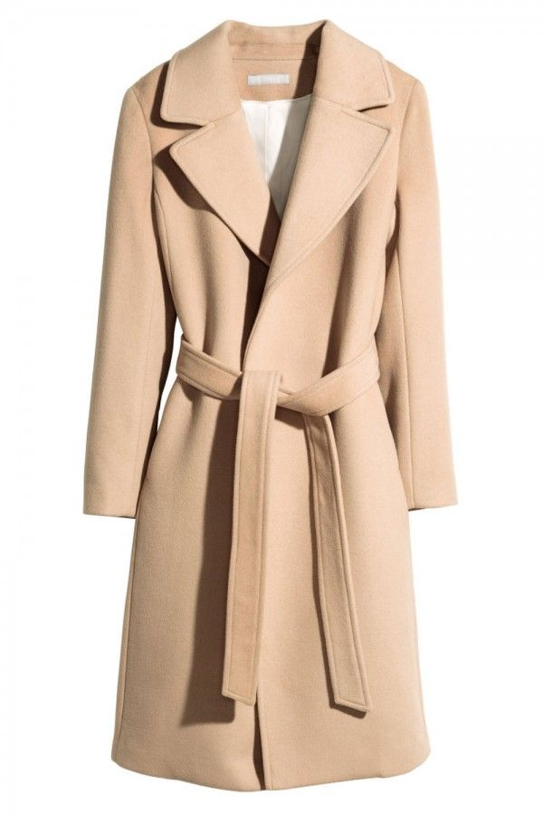 H&M Coat In A Wool Blend, £79.99
