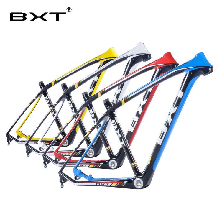 2016 brand new BXT mtb carbon frame 29er 3k mountain bikes frame  17.5'' 19''  bicicletas mountain bike 29 ems free shipping
