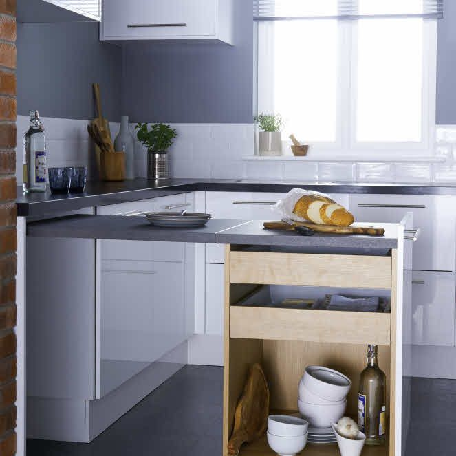 extended worktop kitchen - Google Search