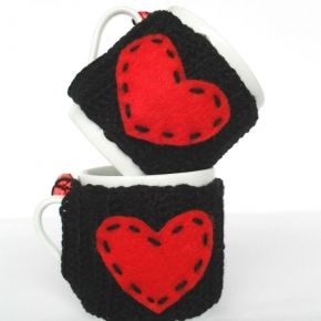 Mini Heart Muggies Valentines Day| Hipbazar.com