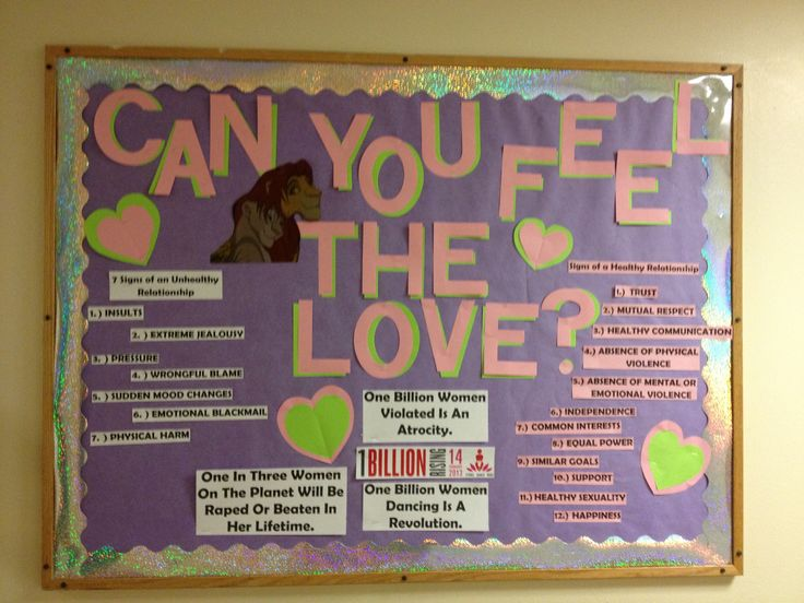 Healthy Dating Bulletin February #Reslife