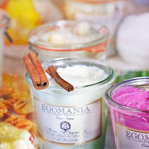 Шерочка с Машерочкой: Egomania Гель и Крем для тела (мороженое) Кофе с К...
