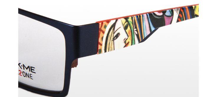 """Mit der neuen """"ART""""-Kollektion erreicht die Vielfalt des Click Me Systems eine neue und einzigartige Dimension. Erstmals werden Brillenbügel nach modernen und klassischen Gemälden gestaltet und machen so die Brille zum individuellen Kunstwerk. http://optik.hartlauer.at/Main/Kollektionen/Wechselbuegel/"""