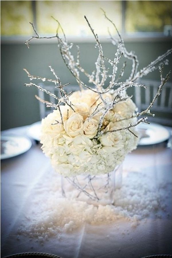 1000+ ideas about Winter Wedding Centerpieces on Pinterest ...