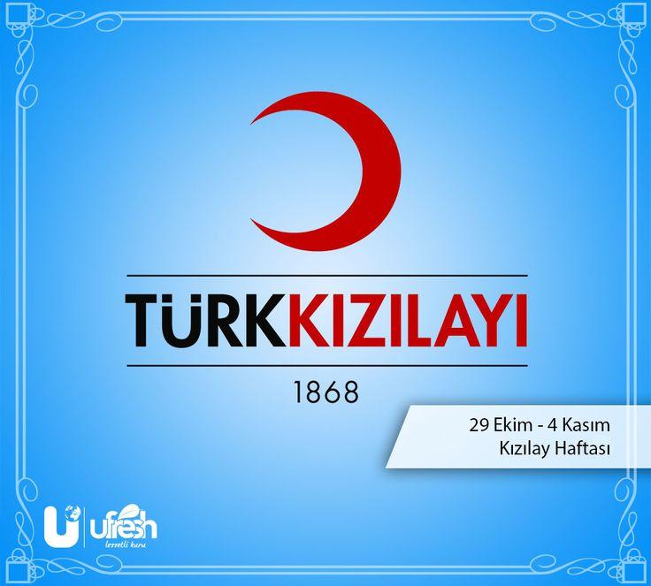 """29 Ekim - 4 Kasım Kızılay """"Farkındalık"""" Haftasını Kutlarız."""