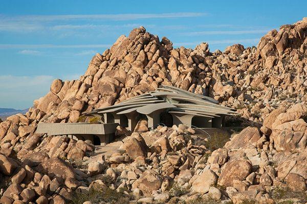 felsen Organische Architektur steine fußweg