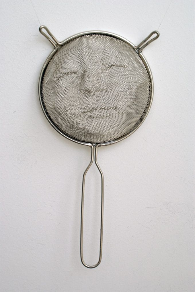Intricate Shadow Faces Cast Through Strainers - My Modern Metropolis