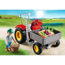 PLAYMOBIL Country Harvesting Tractor (6131) 6131  (Barcode EAN=4008789061317) http://www.MightGet.com/january-2017-11/playmobil-country-harvesting-tractor-6131-6131.asp
