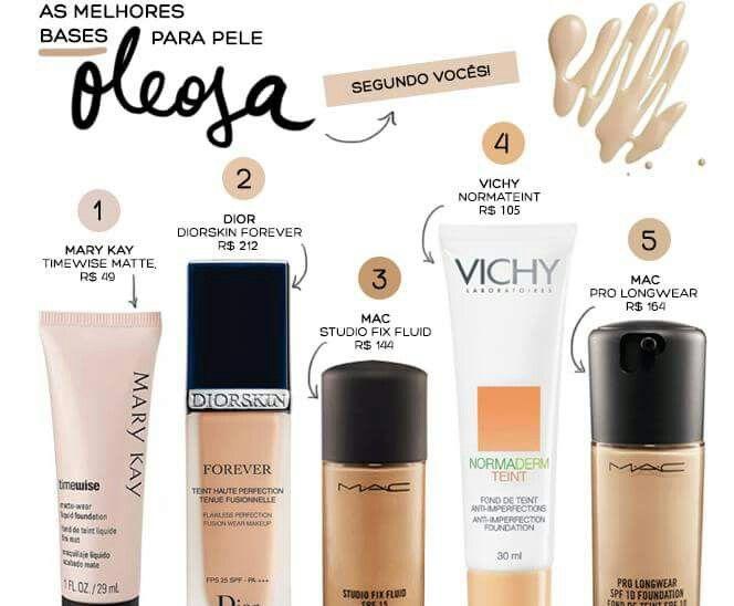 QUEM AINDA NUNCA USOU,USE E CONFIRA!!!    A musa da maquiagem, blogueira e editora de beleza da VOGUE Brasil VICTÓRIA CERIDONO fez uma enquete com as leitoras do seu blog para saber qual a melhor base para peles oleosas e adivinha!?!! Em primeiríssimo lugar a nossa Timewise Matte!!!! Amo Mary Kay!!!! Segue o link pra quem quiser conferir http://revista.vogue.globo.com/diadebeaute/2013/04/as-melhores-bases-para-pele-oleosa/