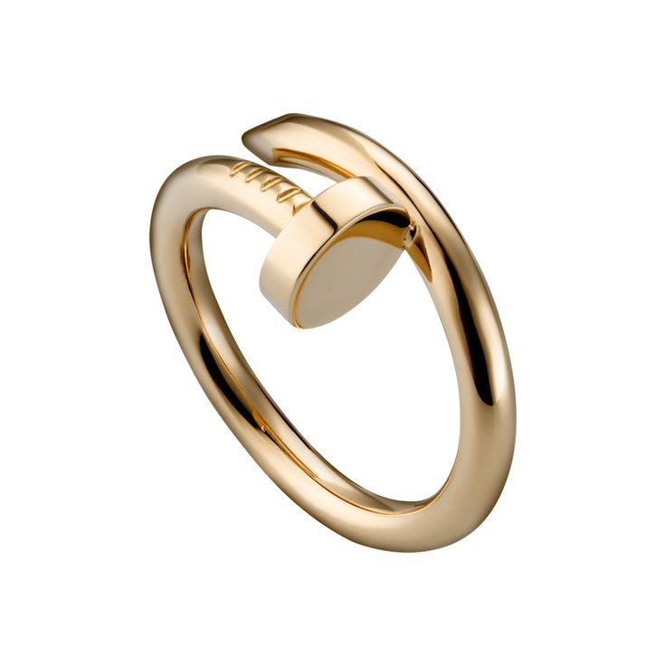 Juste un Clou ring- anything Cartier pink gold I say yes please