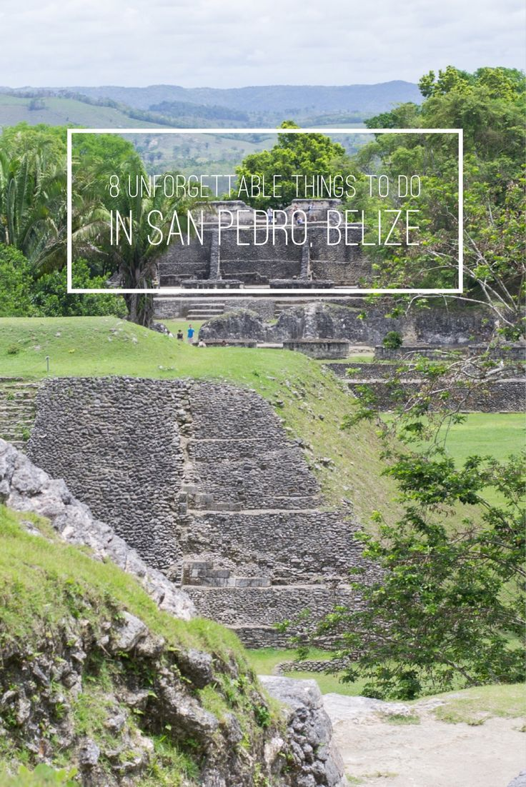 8 Unforgettable Things to do in San Pedro, Belize http://www.worldofawanderer.com