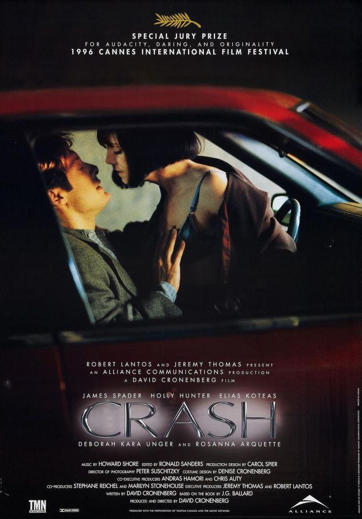 CRASH (1996) - Movie Poster.