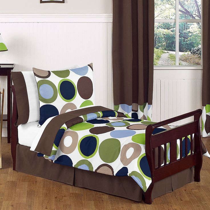 sweet jojo designs boys dots toddler comforter set overstock shopping the best prices on sweet jojo designs kidsu0027 comforter sets