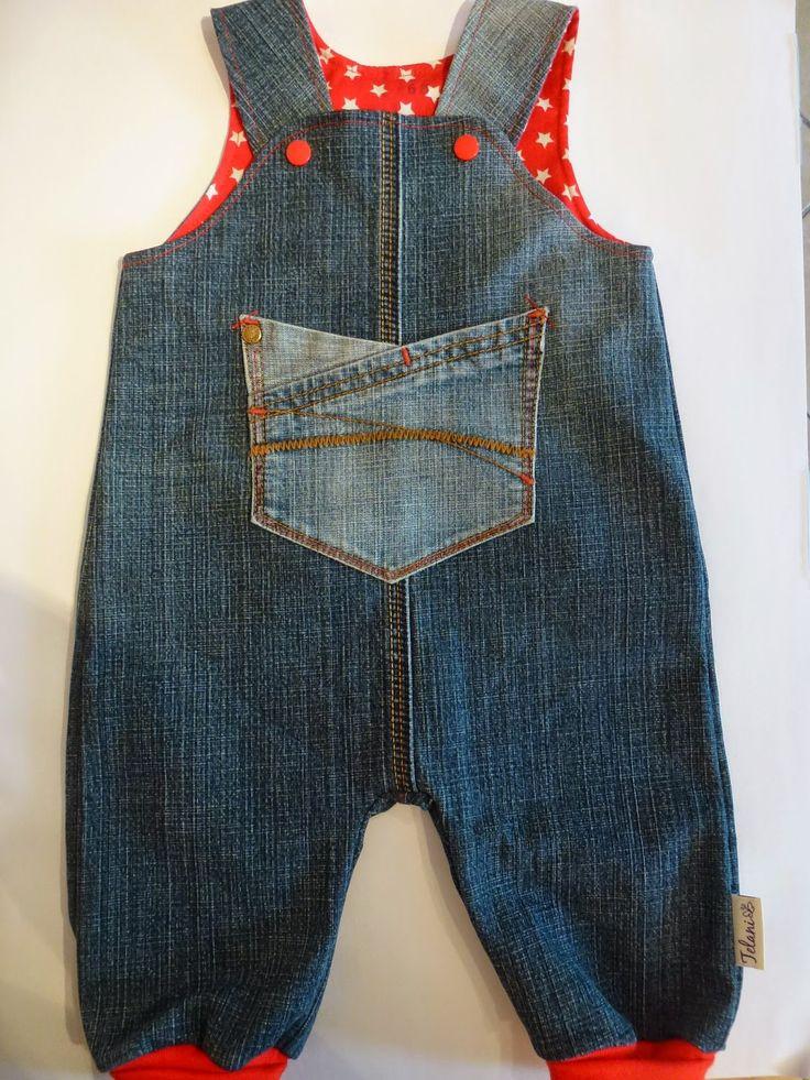 Telani Design: Jetzt geht´s dem Chaos an den Kragen #7, upclycled from adult jeans