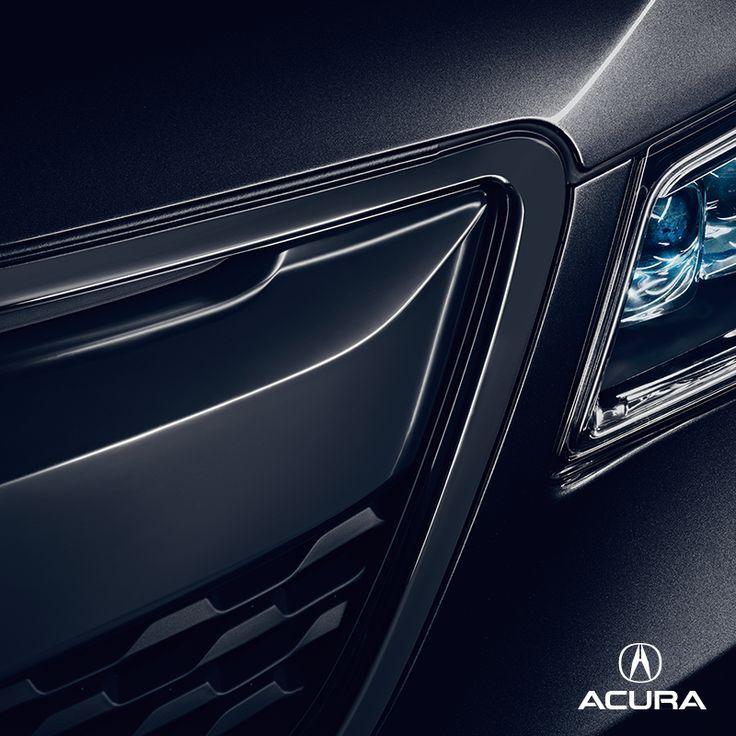 2015 Acura Suv: 2015 Acura MDX Black Close Up Of Grill And Headlight