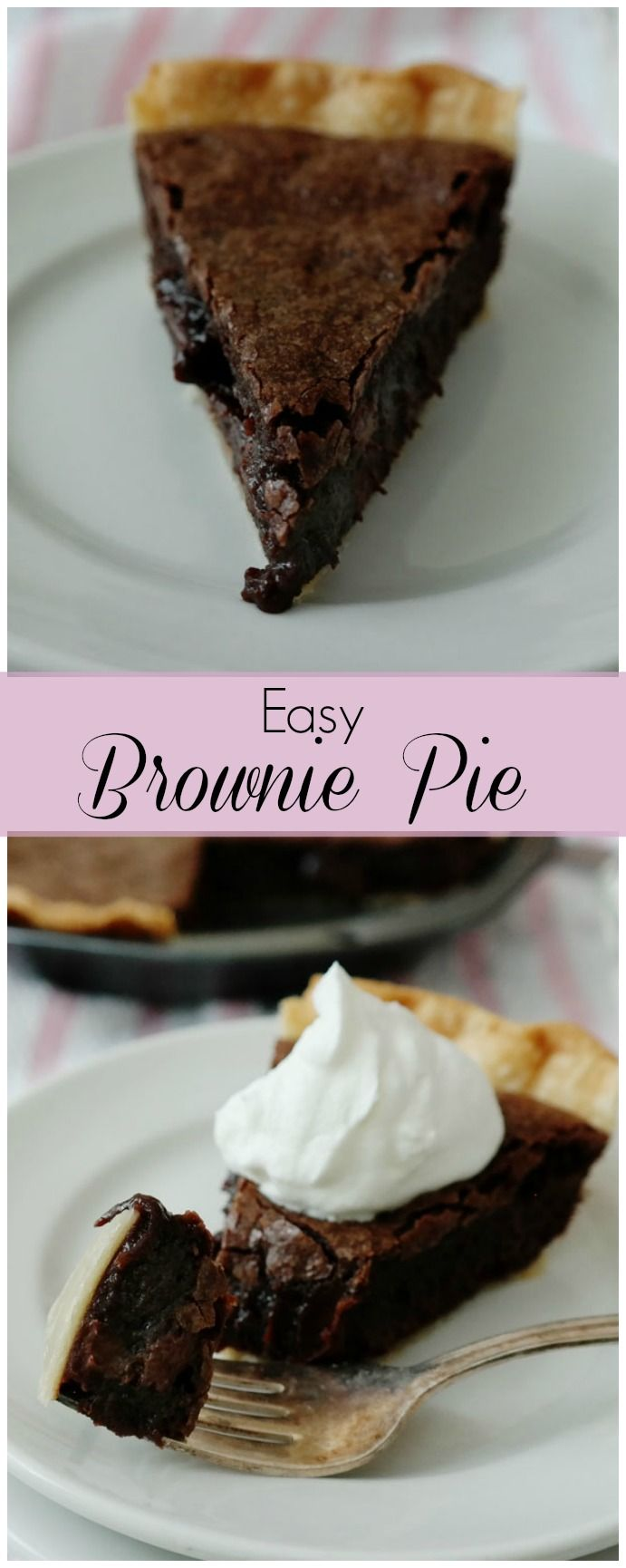 Easy Brownie Pie - Chocolate Chocolate and More!
