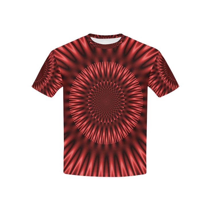 Red Lagoon All Over Print T-shirt for Kid (USA Size) (Model T40)