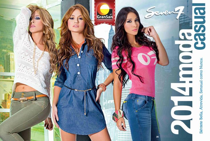 Seven Siete Jeans. Los invitamos al lanzamiento del catálogo de Seven 7 Jeans. Conoce su nueva imagen y sorpréndete con la nueva colección. Encuentrala en el #GranSan, locales 2243 y 2342. ¡Seven Siete Jeans quiere verte sonreir!  #ColombianoCompraColombiano #SoyCapaz de creer en mi país!