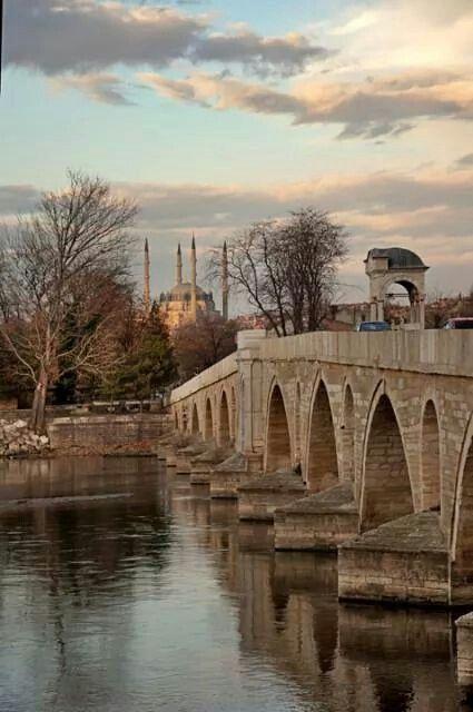 Tunca Köprüsü ve Selimiye Camii