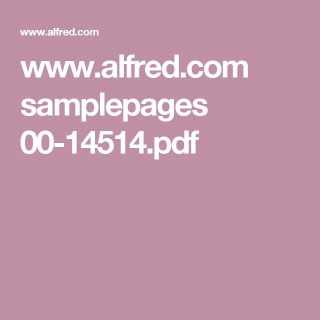 www.alfred.com samplepages 00-14514.pdf